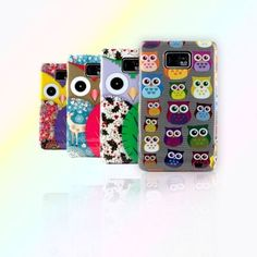 4 Color Small Owl Glossy Hard Back Case Cover for Samsung Galaxy SII S2 I9100 | eBay