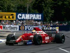 Pierluigi Martini (Scuderia Italia SpA), Dallara 192 - Ferrari Tipo 037 3.5 V12, 1992 Australian Grand Prix  (Adelaide Street Circuit)