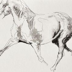 Equine Nude 106 - Close-up detail (artwork)