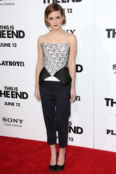 Emma Watson at the This Is The End premiere