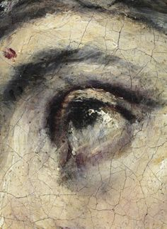 "El Greco, ""Christ embraced the cross"", detail, 1587-96, Museo Thyssen-Bornemisza"