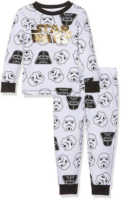 Mothercare Baby Boys' Star Wars Aop Foil Ls Ll Skinny Pj Pyjama Sets