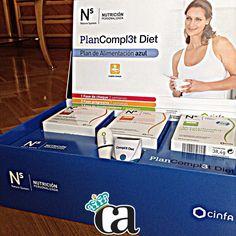 Deseando ☺️empezar mi PlanCompl3t Diet de @Ns_Cinfa #NsNutrigenética ✨✨ Muchas gracias @influenzia_net @Maria Gamero !!  #ArnyBeauty #ArnyDieta
