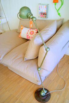 Lovely Vintage Jielde lamp, stunning color! I love it! #LaBoutiqueVintage