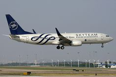 China Southern Boeing 737-800 B-5640 in Skyteam colours