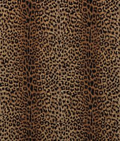 P. Kaufmann Cheetah Earth Fabric - $19.5   onlinefabricstore.net. This is about to be the interior of my car lol