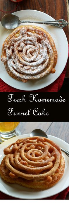 Funnel cakes are very easier to make, Would you believe me that it requires just 10 minutes to make from the scratch to the end? Yeah! proportions need not be 100% accurate, no bothering in making the pattern, Perfect results every time we make.