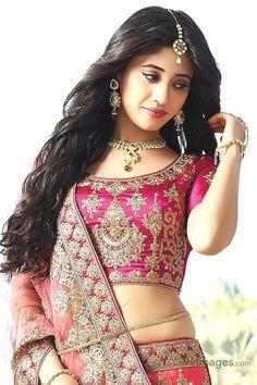 Magenta and Pink Shaded Satin Silk Wedding lehenga Set Beautiful Girl Indian, Most Beautiful Indian Actress, Beautiful Saree, Gorgeous Women, Simply Beautiful, Beauty Full Girl, Beauty Women, Beautiful Bollywood Actress, Beautiful Actresses
