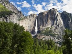 Yosemite Valley is home to most of the park's largest attractions, including El Capitan, Upper Yosemite Waterfall, the sequoias, Glacier Point and Bridalveil Falls.