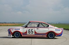 "thatyellowvolvoguy: "" kahzu: "" 1975 Škoda 130 RS "" These are so cool, love the graphics too """