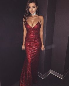 ♡ red dress♡