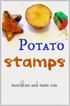 Potato Stamps- a classic art activity for kids!
