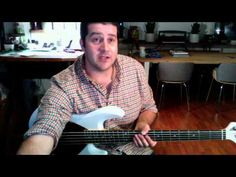 This is Amazing Grace Bass Lesson and Playalong - YouTube