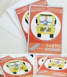 Benny's Bus Birthday Party