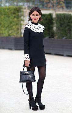 Miroslava Duma in Valentino at KG Street Style