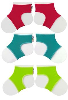 Sock Ons Clever Little Things That Keep Baby Socks On! 3 Pack Brights 0 - 6 Months Sock Ons http://www.amazon.com/dp/B0091XXM98/ref=cm_sw_r_pi_dp_Fweqvb114DGKC
