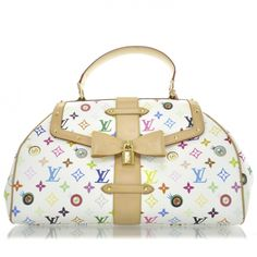 This is an authentic LOUIS VUITTON Multicolor Murakami Eye Love You Bag.  This is a 725c7461c7b55
