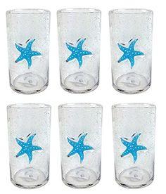 Star Fish Nautical Ocean 16-ounce Beverage Glass, Set of ... https://www.amazon.com/dp/B018ZT42UG/ref=cm_sw_r_pi_dp_W0bHxb47F97MP