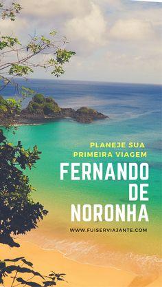 Planejamento de viagem para Fernando de Noronha, em Pernambuco. Dicas e informações para quem vai para a ilha mais bonita do Brasil pela primeira vez. #ilha #pernambuco #fernandodenoronha #viagem