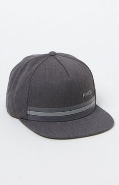 PacSun presents the RVCA Barlow Twill Snapback Hat for a856fc06845