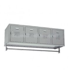 4 Person Wall Mount Lockers for sale! Feature four private box compartments and a hanging rod for up to 16 coats. You can also remove the coat rod and set this unit on counters or cabinets. Metal Lockers, Gym Lockers, School Lockers For Sale, Staff Room, Metal Box, Boy Room, Mudroom, Laundry Room, Wall Mount