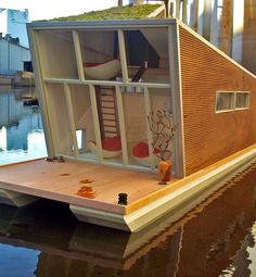 1000 images about living on water on pinterest for Building a permanent tiny house