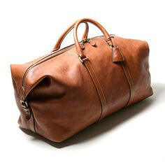 282b54de3d69 Great overnight bag mulberry Leather Duffle Bag