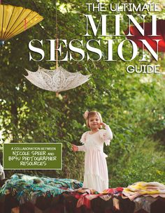 Outdoor posing ideas for mini sessions with children and families