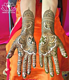Beautiful Mehndi designs to beautify your hands this wedding season! Indian Henna Designs, Latest Bridal Mehndi Designs, Full Hand Mehndi Designs, Mehndi Designs 2018, Modern Mehndi Designs, Mehndi Designs For Girls, Mehndi Design Photos, New Bridal Mehndi Designs, Dulhan Mehndi Designs