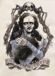 Edgar Allan Poe By Soni Alcorn-Hender