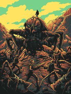 Dan Mumford's New Art Show Has Several Jaw Dropping Horror Pieces Dan Mumford, The Dark Knight Trilogy, Dark Ink, Alternative Movie Posters, Science Fiction Art, Star Wars Episodes, Sci Fi Art, Art Club, New Art