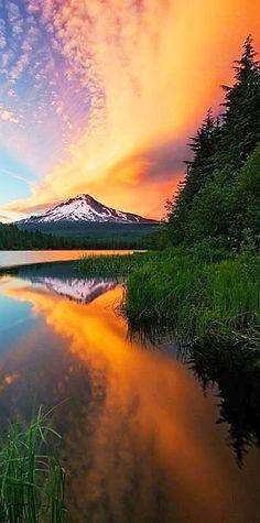 #Sunset on Mt. Hood in #Oregon