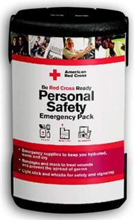 Personal Safety Emergency Pack - Red Cross Store