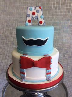 Host his upcoming arrival with the mustache baby shower theme to get extra special celebration! The mustache baby shower theme is Little Man Birthday Party Ideas, Happy Birthday Man, Little Man Party, Birthday Fun, Birthday Ideas, Moustache Cake, Mustache Theme, Mustache Birthday, Cakes For Men