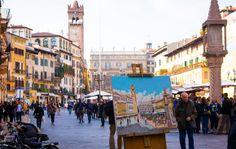 """<p>Due volte Piazza Erbe - Richi Sasso <span class=""""photo-credit"""">Foto da: Ultime foto: primavera 2016</span></p>"""
