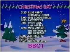 BBC One Christmas (December 1986)