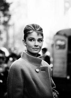 Audrey Hepburn coat