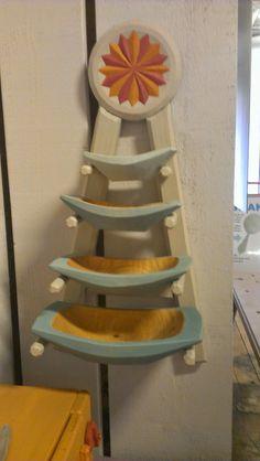 A great set of hewn bowls by Anja Sundberg