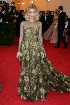 Red carpet del Costume Institute Gala 2014: Kate Mara