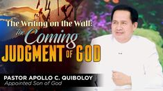 'The Writing on the Wall: The Coming Judgment of God' by Pastor Apollo C. Spiritual Enlightenment, Spirituality, Spiritual Dimensions, Kingdom Of Heaven, Bible Truth, Son Of God, Praise And Worship, Apollo, Contents