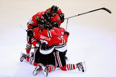Hockey Hugs: The top 10 celebratory photos of 2012-13 NHL season | Puck Daddy - Yahoo Sports