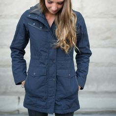 Bengal Waxed Canvas Jacket - Women's Darkcotta | Cotopaxi - Gear For Good- love this, I need rain gear, rain coat, boots umbrella... Etc