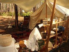 Aspiring Homemaker: Re-enacting civil war era camping