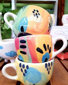 Pottery Painting, Ceramic Painting, Ceramic Clay, Ceramic Pottery, Coffee Cups, Tea Cups, Mug Cup, Surface Design, Instagram