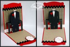 free tuxedo template to coordinate with all dressed up framelits and pop n cut