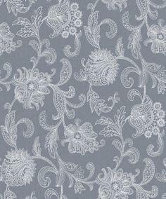 Borastapeter Lace (1349) Paisley Wallpaper, Wall Wallpaper, Textures Patterns, Print Patterns, Designer Wallpaper, Wall Tiles, Artsy, Tapestry, House Design