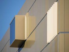 Aluminium composite panel ALUCOBOND® ANODIZED LOOK by 3A Composites