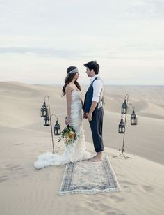 moroccan wedding inspiration in the sand