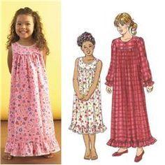 Girls nightgown