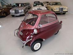 1957 BMW ISETTA COLLECTOR OWNED FOR THE PAST 15 YEARS BEAUTIFUL RECENT COSMETIC RESTORATION RARE AND DESIRED MODEL STUNNING COLOR COMBINATION READY TO DRIVE AND ENJOY TRULY A COLLECTOR'S DREAM 1957 BMW ISETTA 300 Finished...